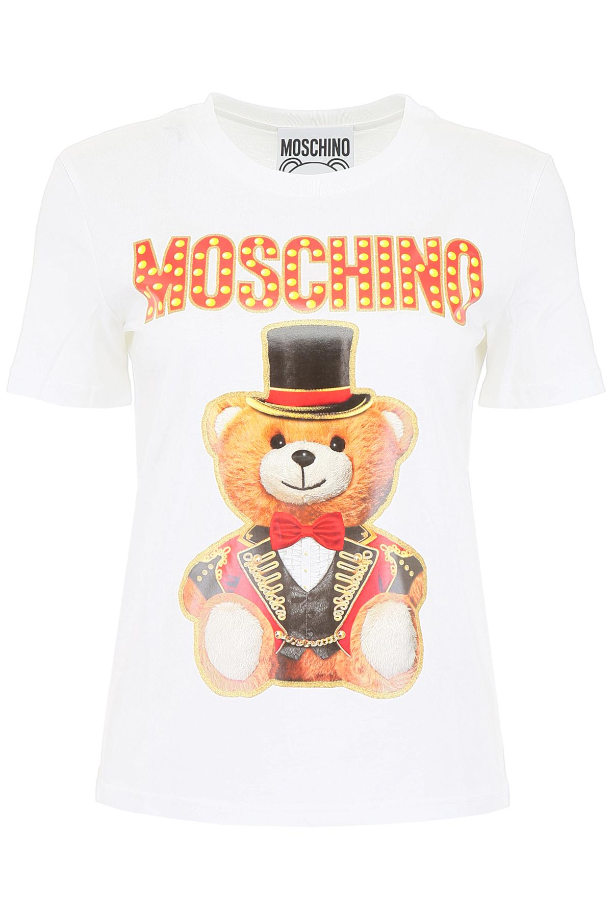 9e637ed8 Moschino - White Circus T-shirt - Lyst. View fullscreen