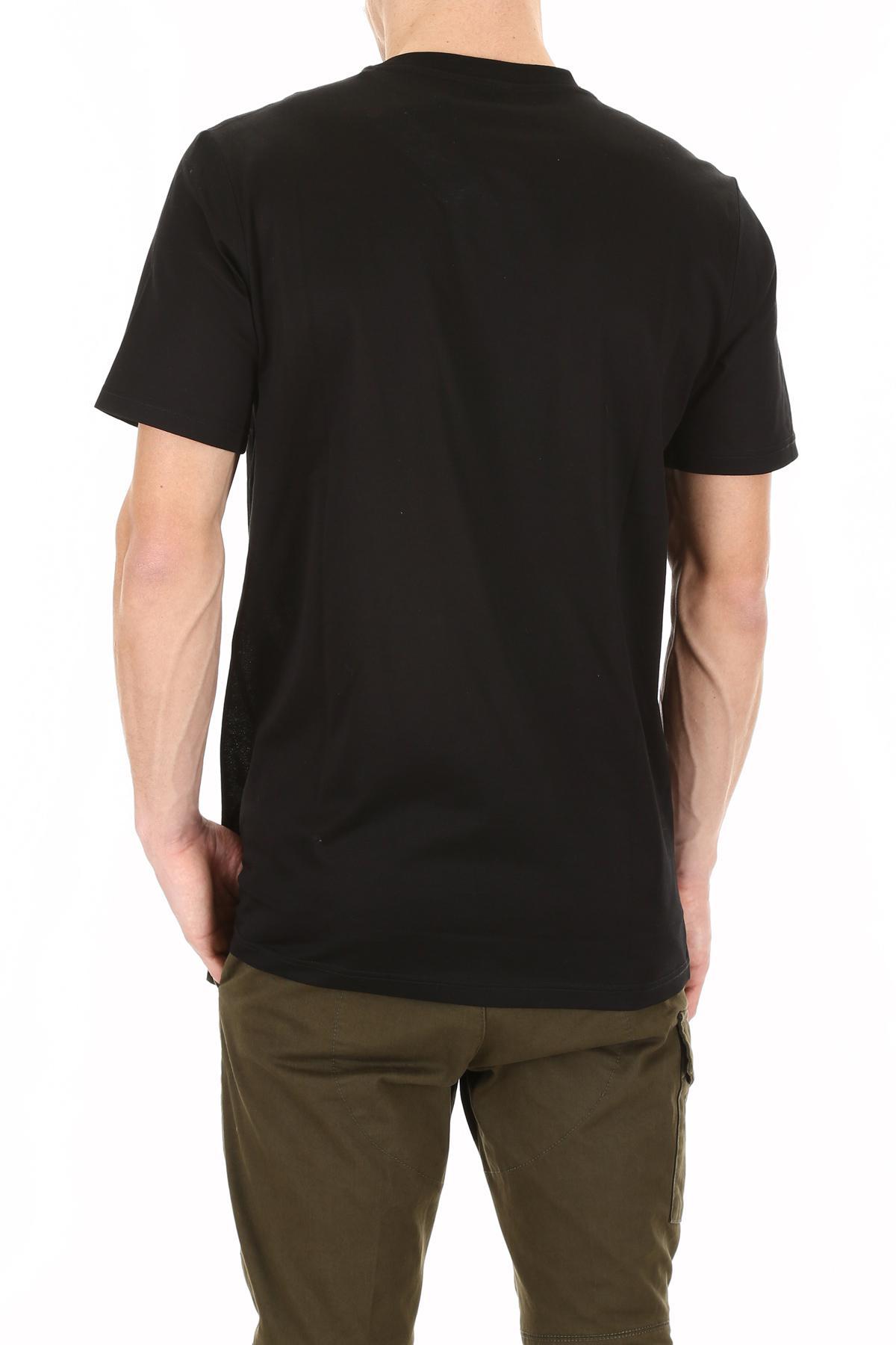b4778c253d5 Lanvin Black Tourist Landscape T-shirt for men