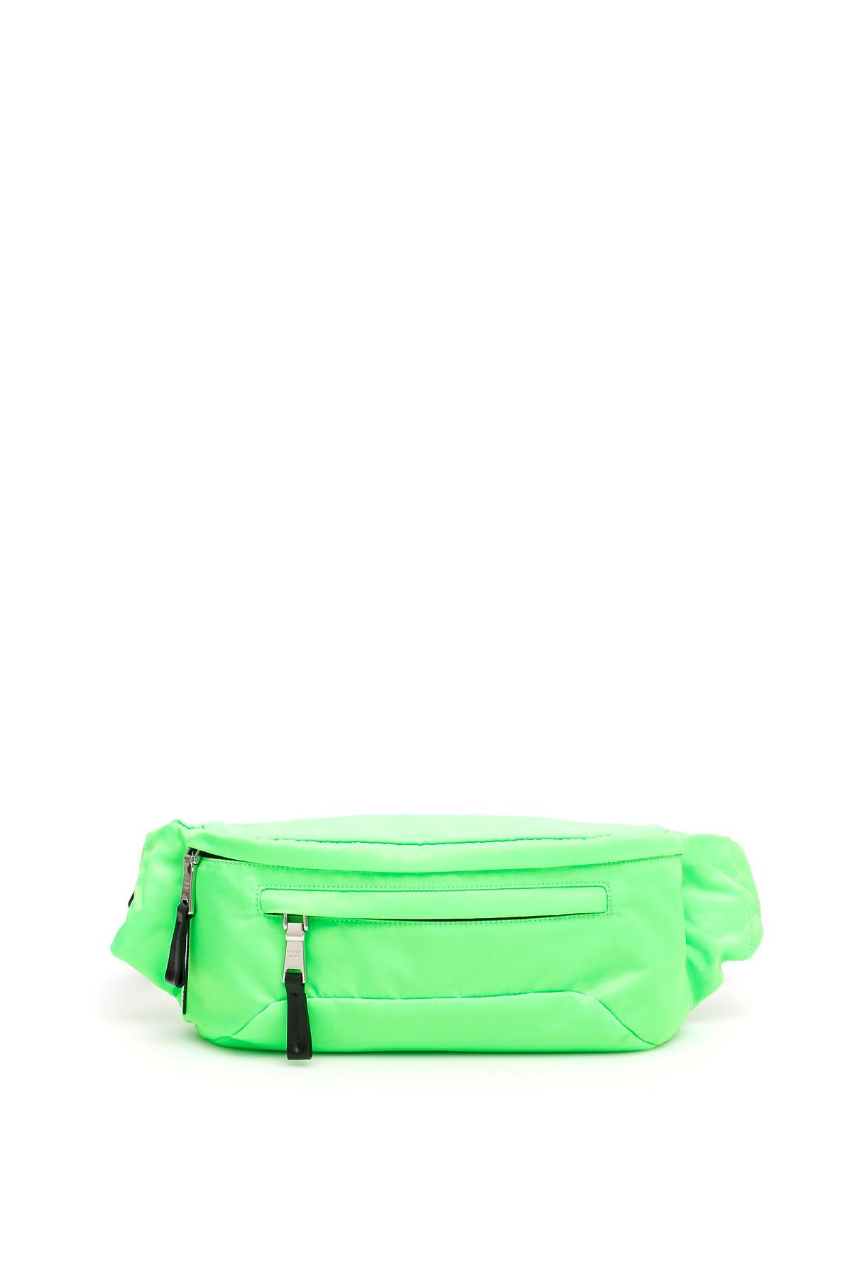 55ec96fe97877d Lyst - Prada Nylon Beltbag With Logo in Green for Men