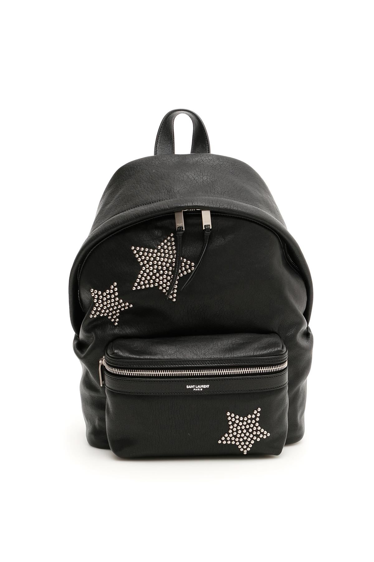 78bf382d3a Saint Laurent Leather Mini City Backpack in Black - Save ...