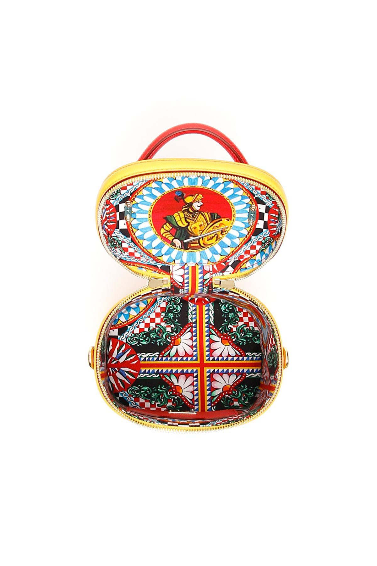 8f12267be0b0 Dolce   Gabbana - Multicolor Carretto Dg Girls Bucket Bag - Lyst. View  fullscreen