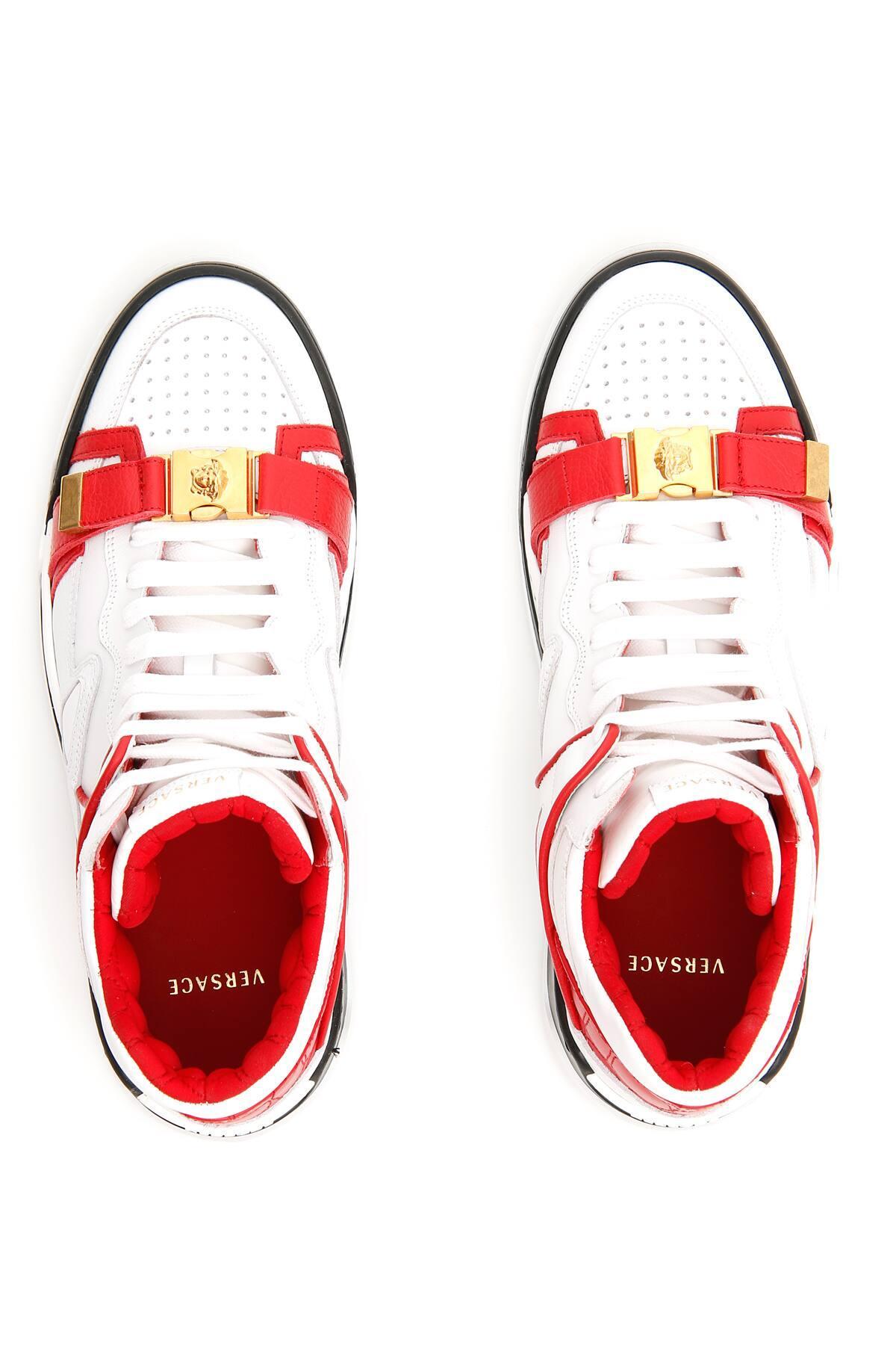 Versace Atlas Sneaker in Red for Men - Lyst