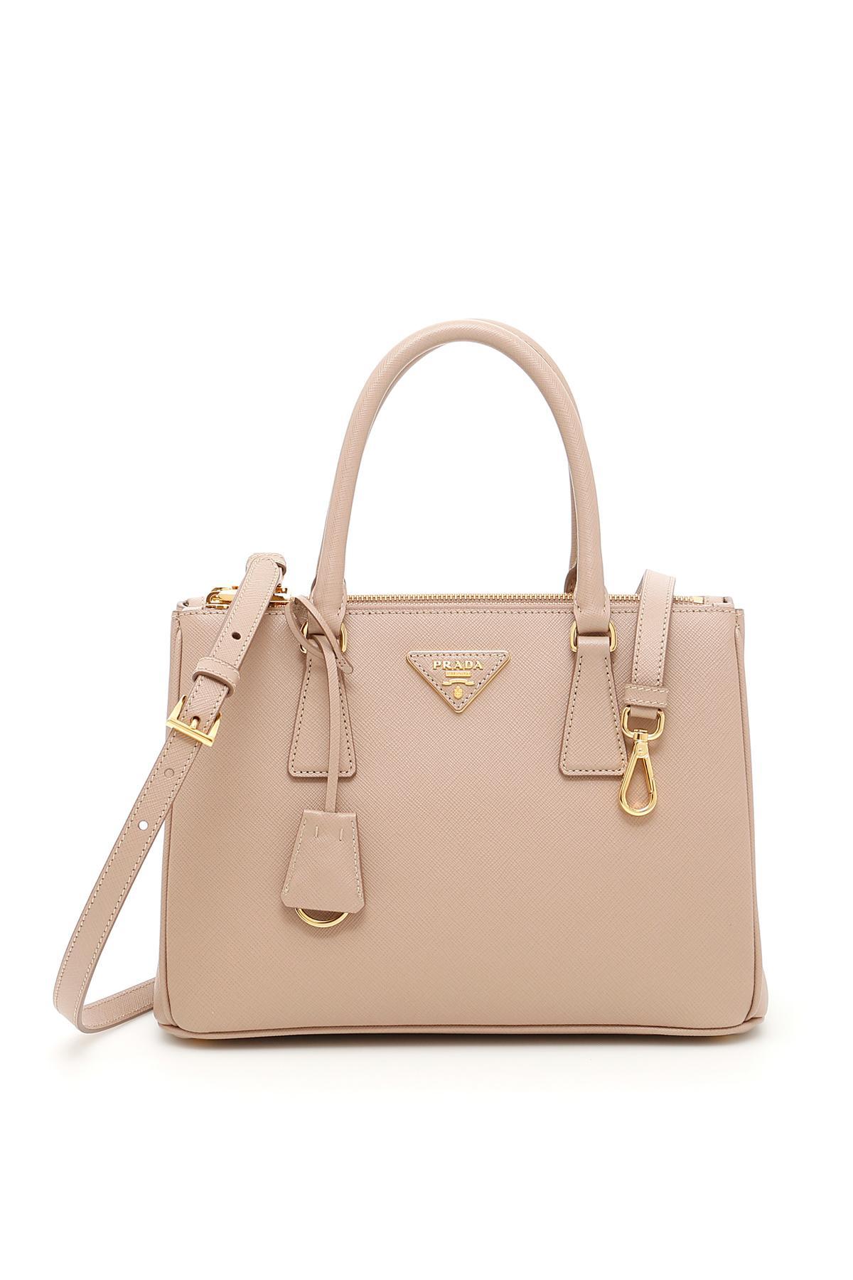f10ff3fcc539 Lyst - Prada Galleria Saffiano Small Leather Tote - Save ...