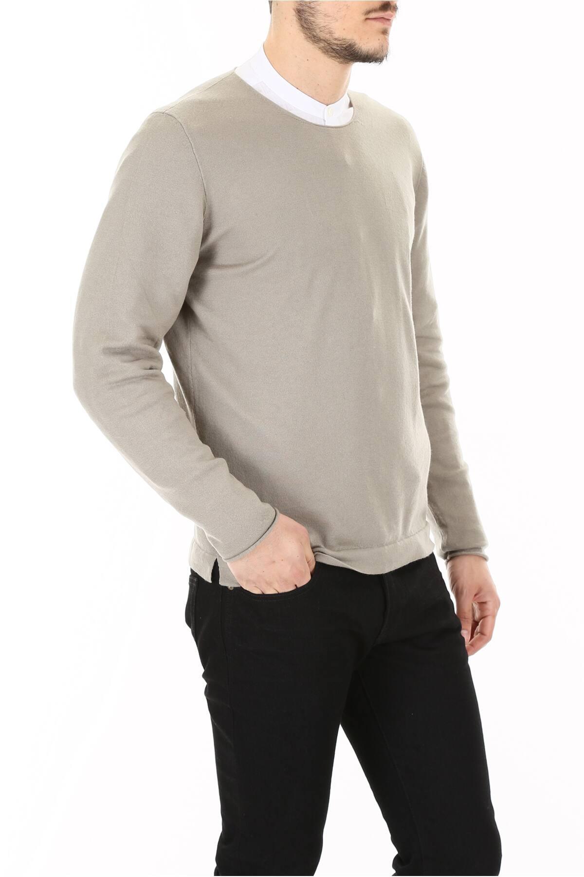 Massimo Alba Cashmere Pull in Beige,Grey (Grey) for Men
