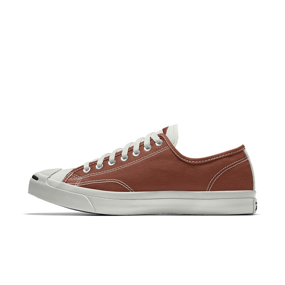 f12c59d30df Lyst - Converse Custom Jack Purcell Canvas Low Top Shoe in Brown for Men