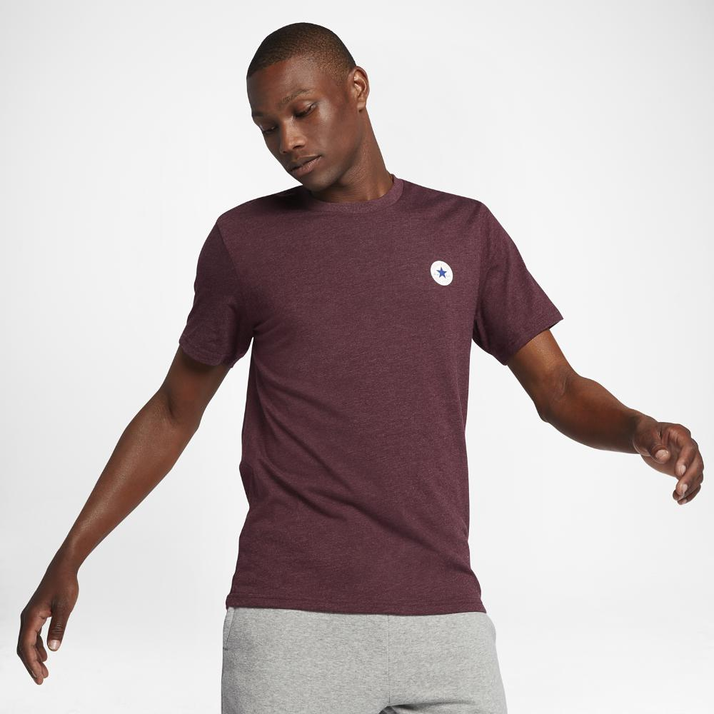 40a174ac7c8b Lyst - Converse Chuck Patch Tpu Men s T-shirt in Purple for Men