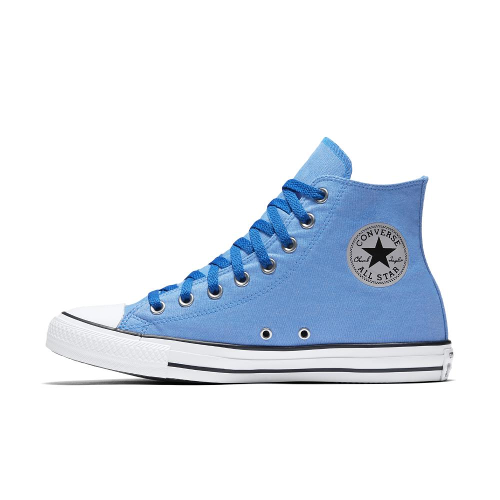 edecff7a5b9687 Lyst - Converse Chuck Taylor All Star Washed Chambray High Top Shoe ...
