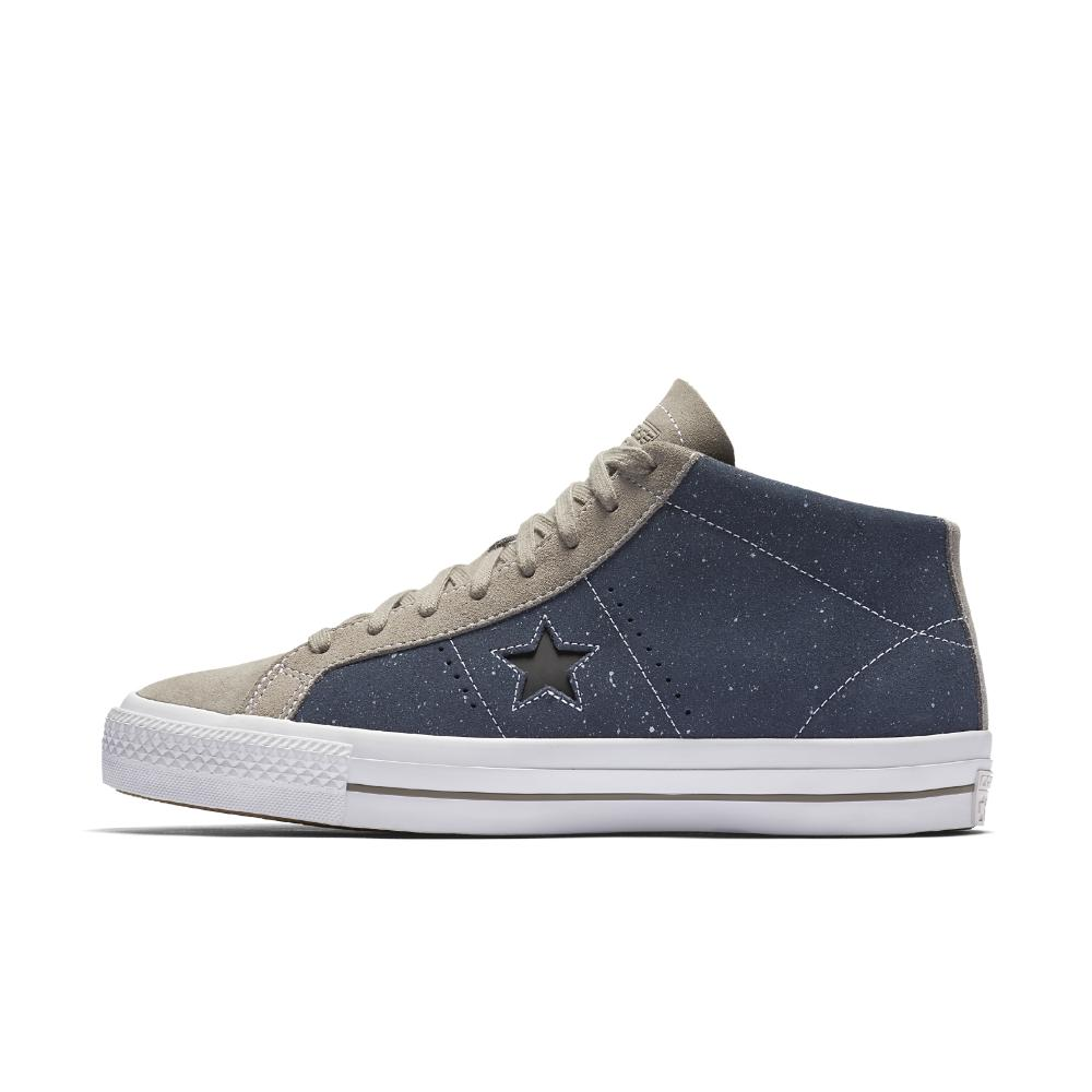 bcea3b4521e650 Lyst - Converse Cons One Star Pro Speckled Suede Mid Top ...