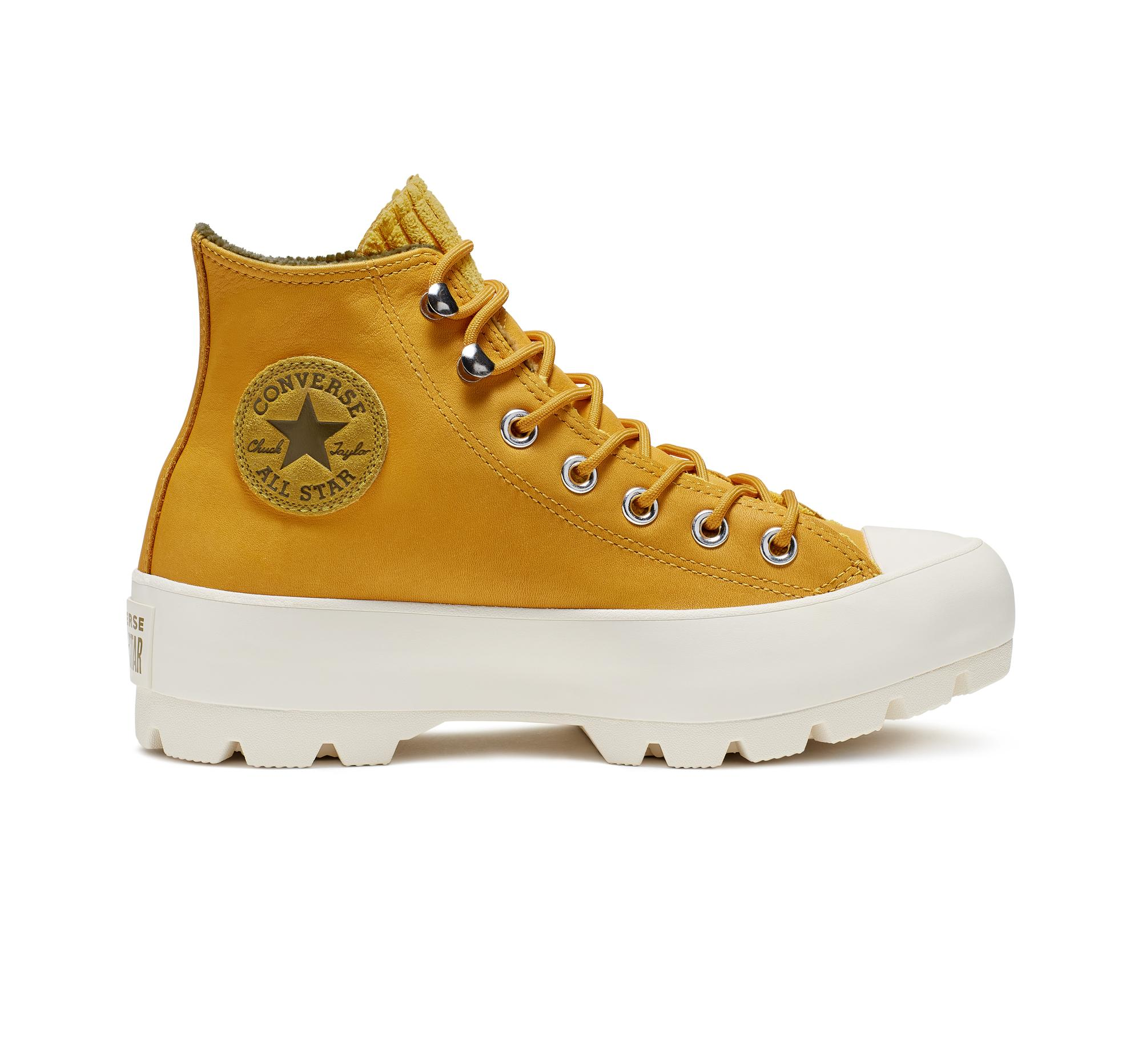 2converse all star yellow