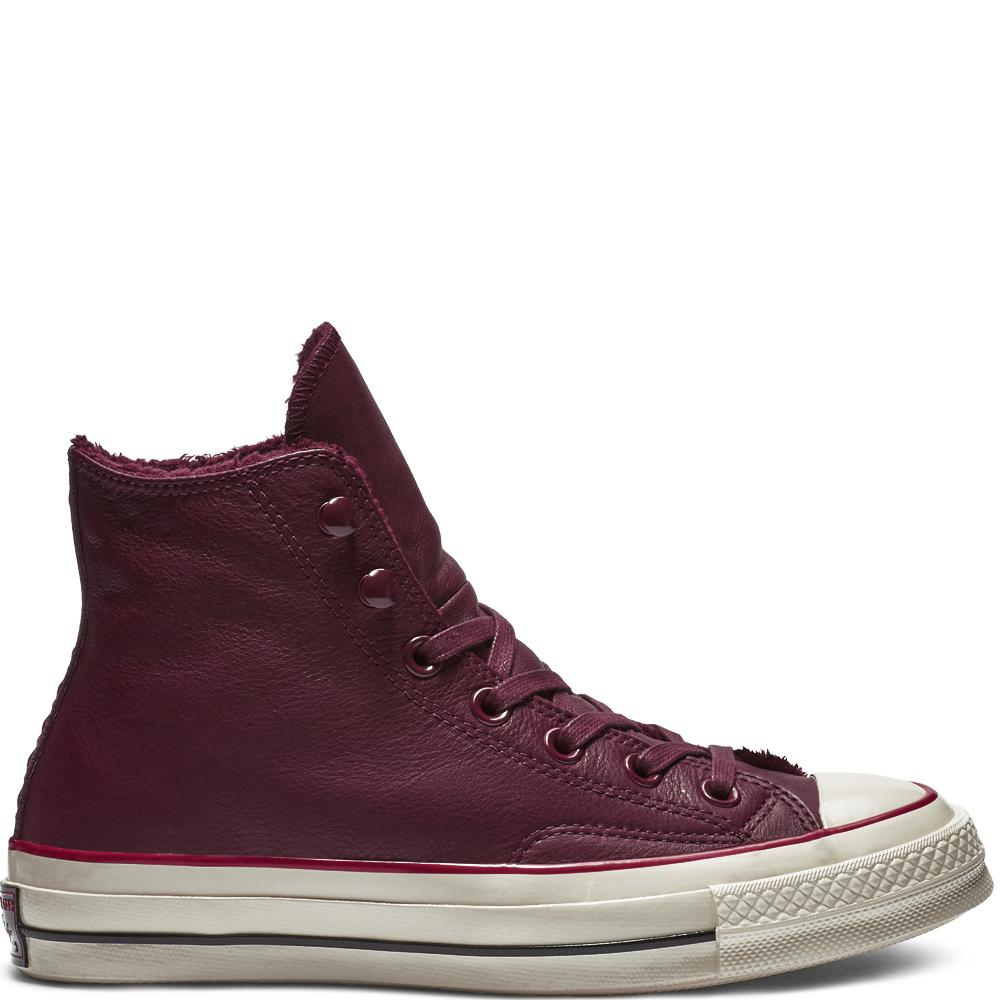 Converse Chuck 70 Street Warmer Leather High Top in Red for Men ... f79b01f5d