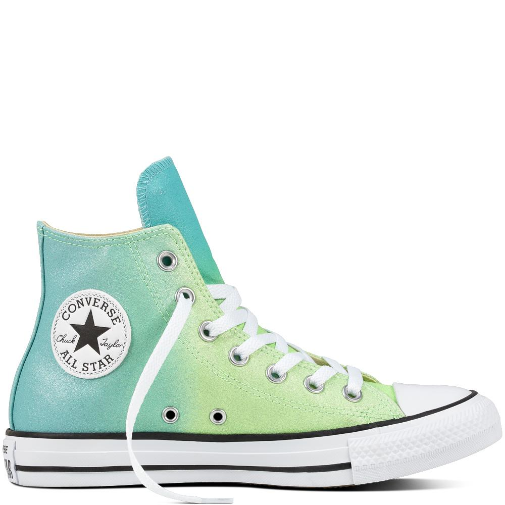 628822269296 Converse Chuck Taylor All Star Ombre Metallic in Green for Men - Lyst