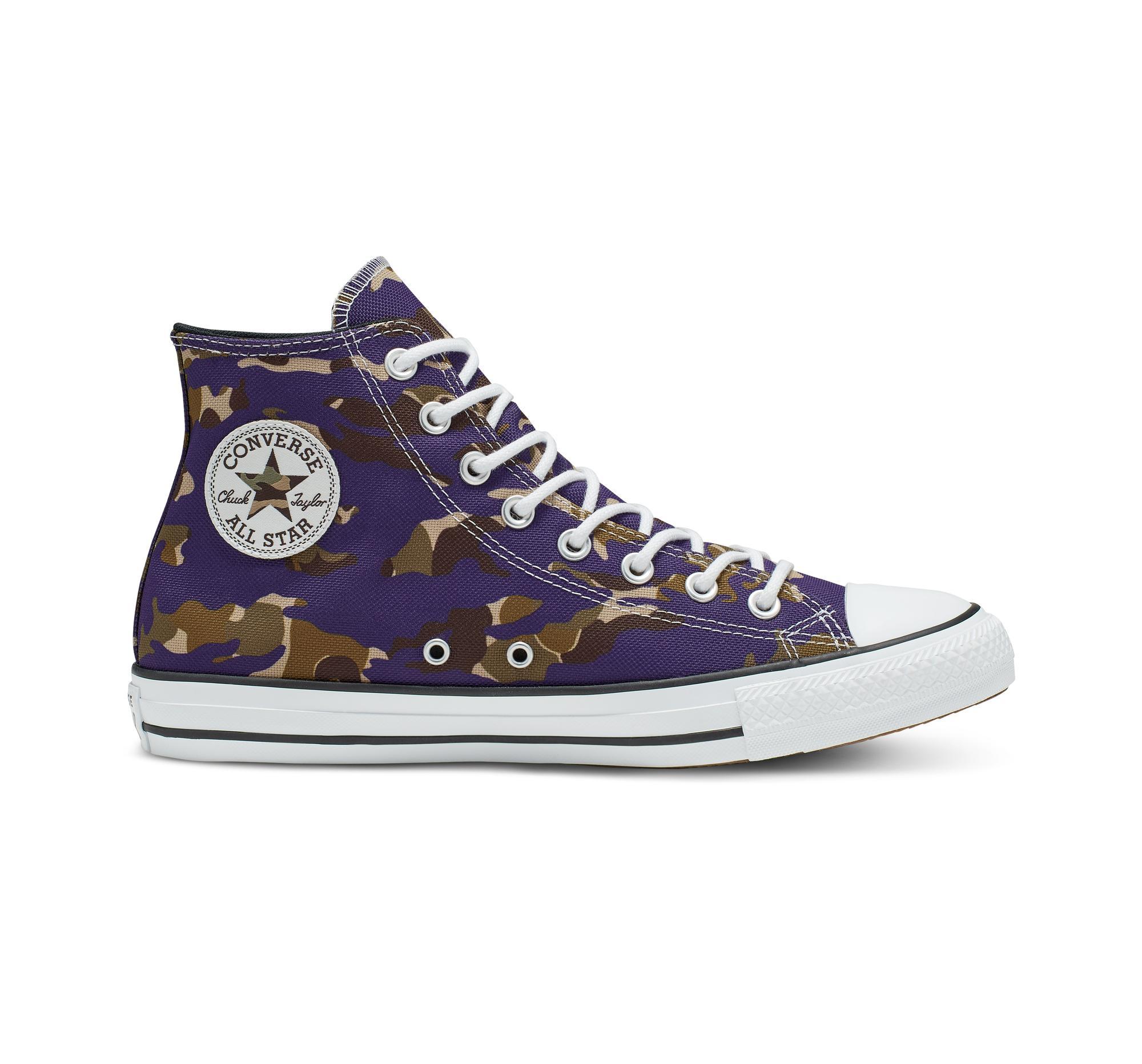 2converse chuck taylor purple 38