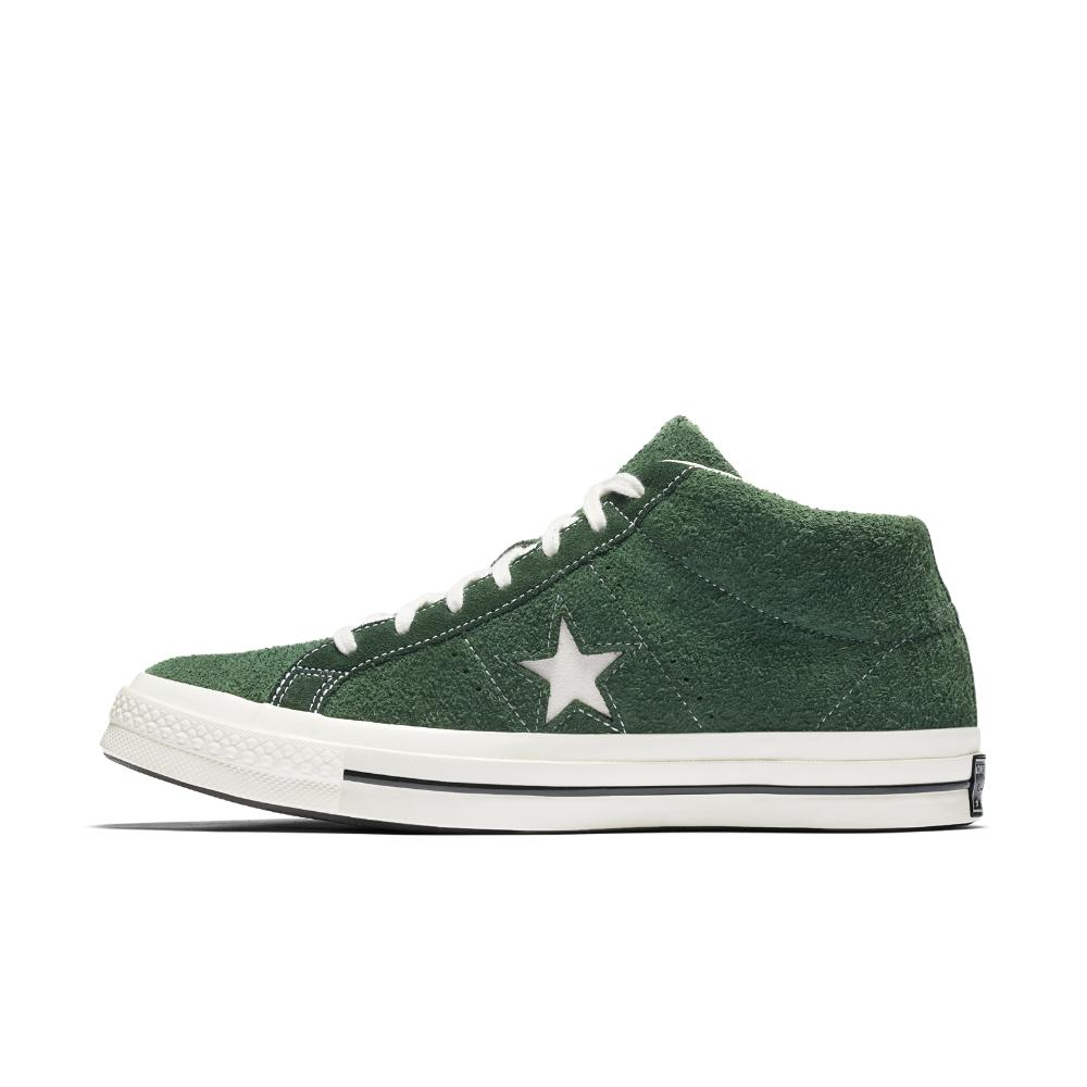 f0d19d496940 Lyst - Converse One Star  74 Mid Vintage Suede Shoe in Green for Men