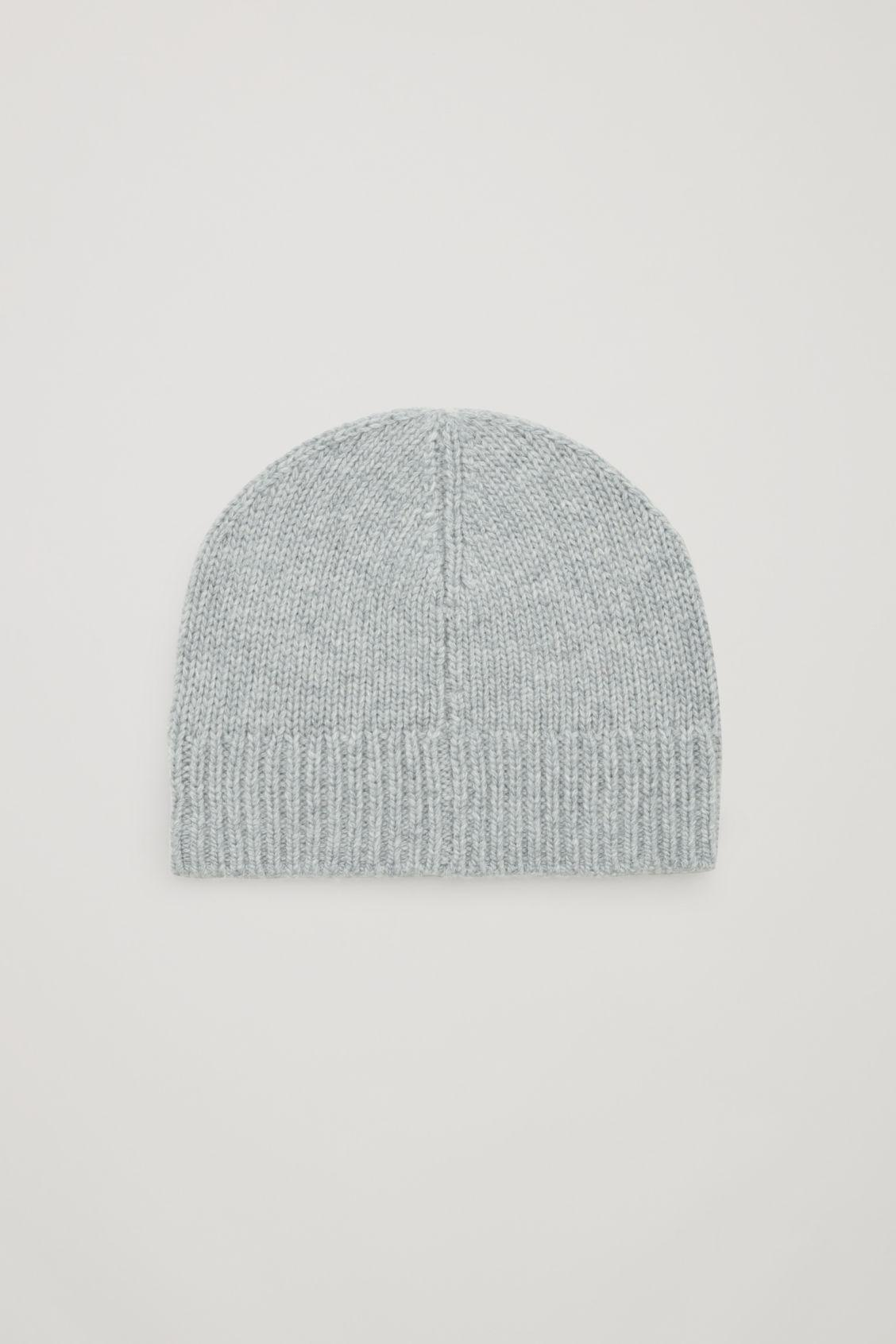 Lyst - COS Cashmere-wool Beanie Hat in Gray bd53edde6c4