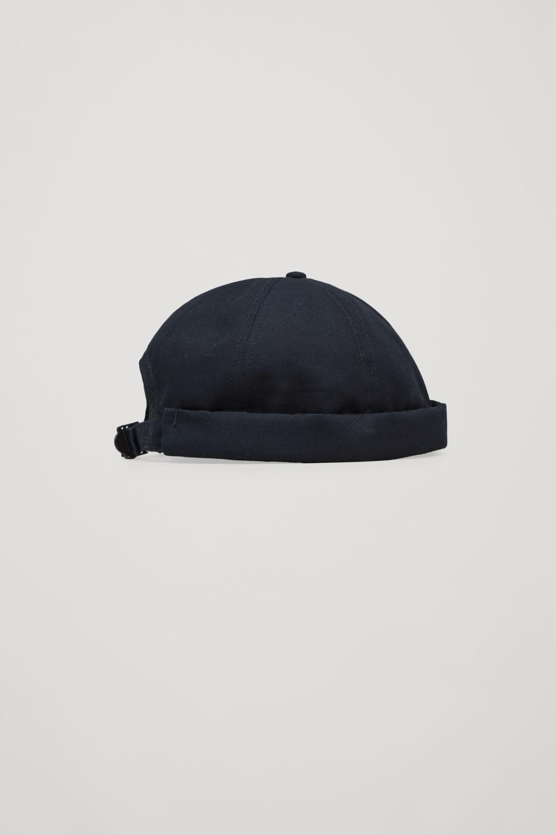 Lyst - COS Cotton Skull Cap in Black for Men 3ddc83b2a73c