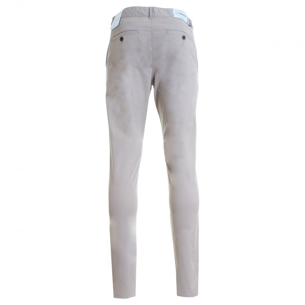 Farah Homme ELM TWILL CHINO in Light Sand-clearance