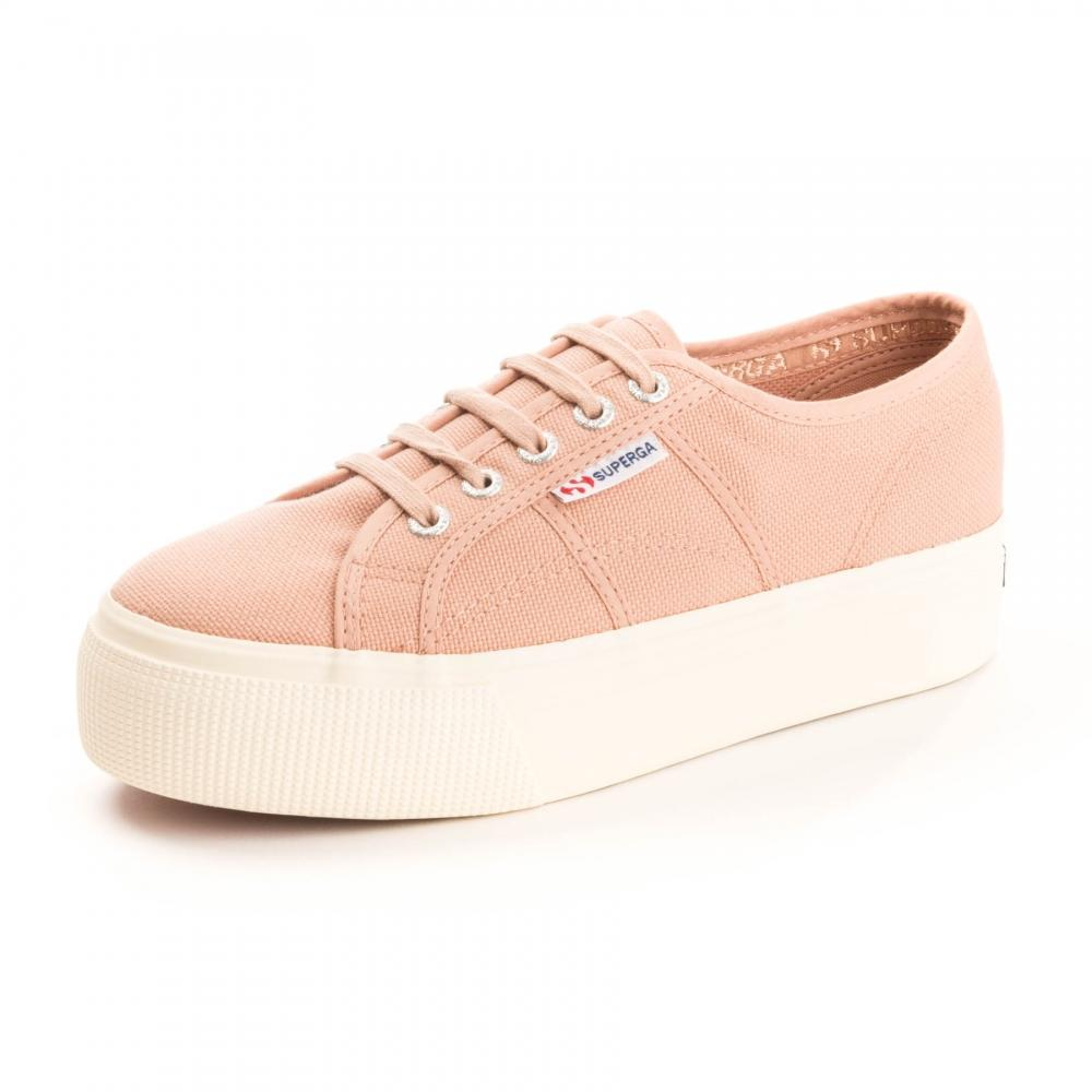 Superga 2790 LINEA UP AND DOWN - Trainers - rose mahogany 48ThwFz5id