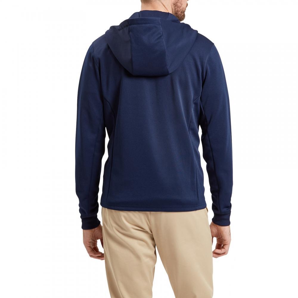 Lyle & Scott Denim Tricot Hooded Mens Jacket in Navy (Blue) for Men