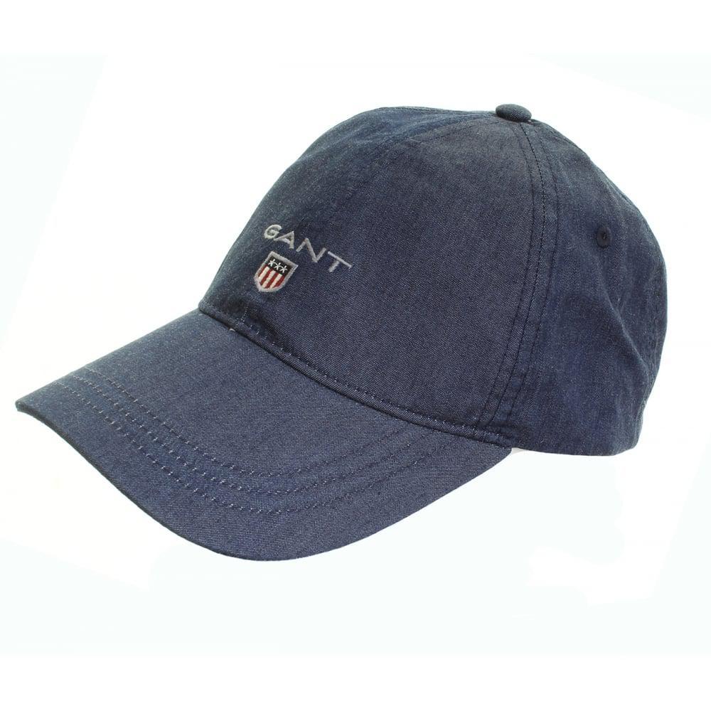 a90231ef2ed Gant - Blue Indigo Cap for Men - Lyst. View fullscreen