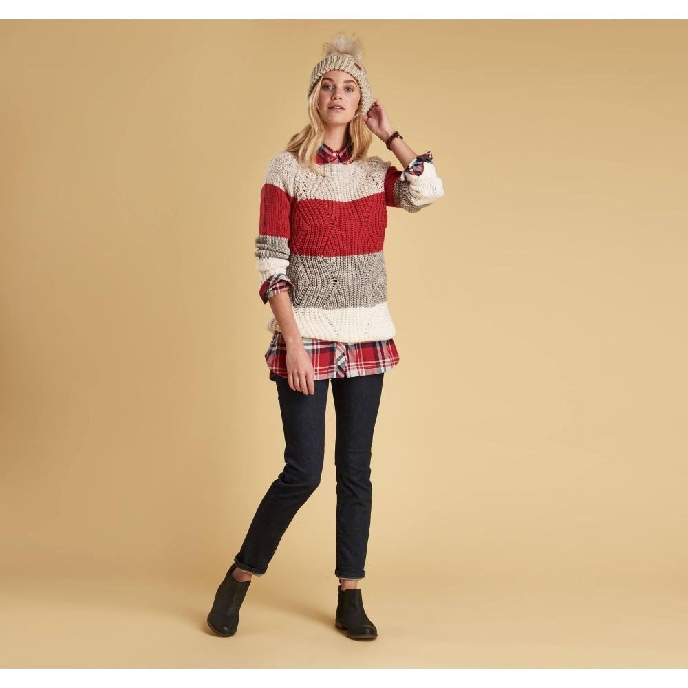 d36c3f2506f4fa Barbour Padstow Knit Top in Red - Save 40% - Lyst