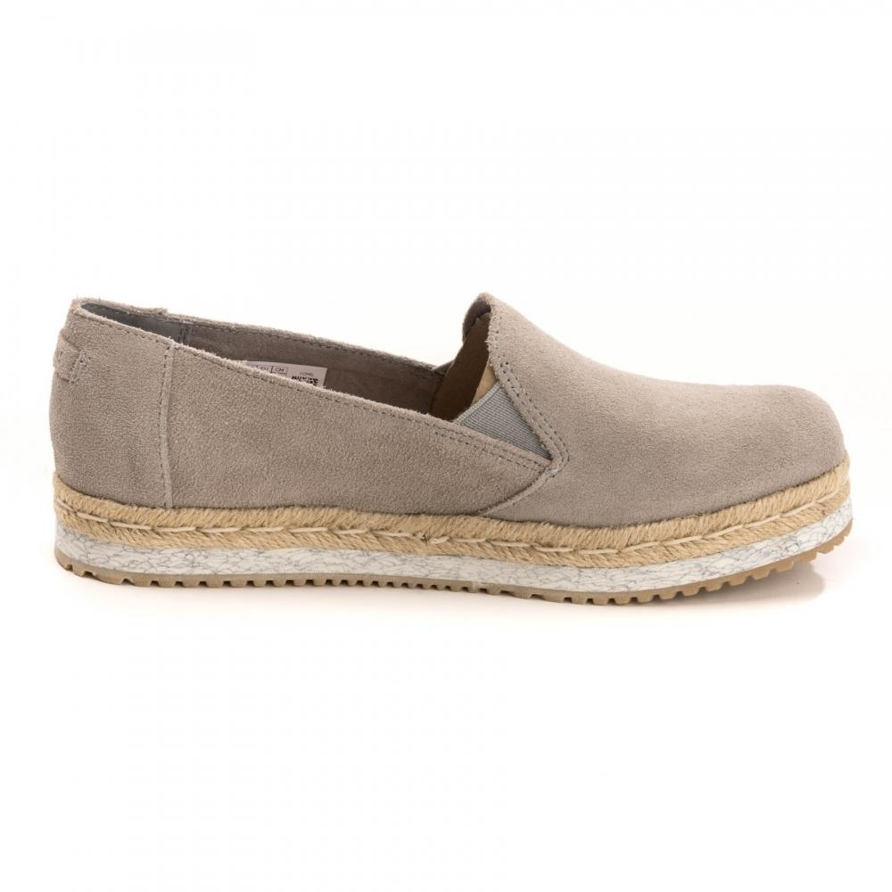 TOMS Drizzle Grey Suede Palma
