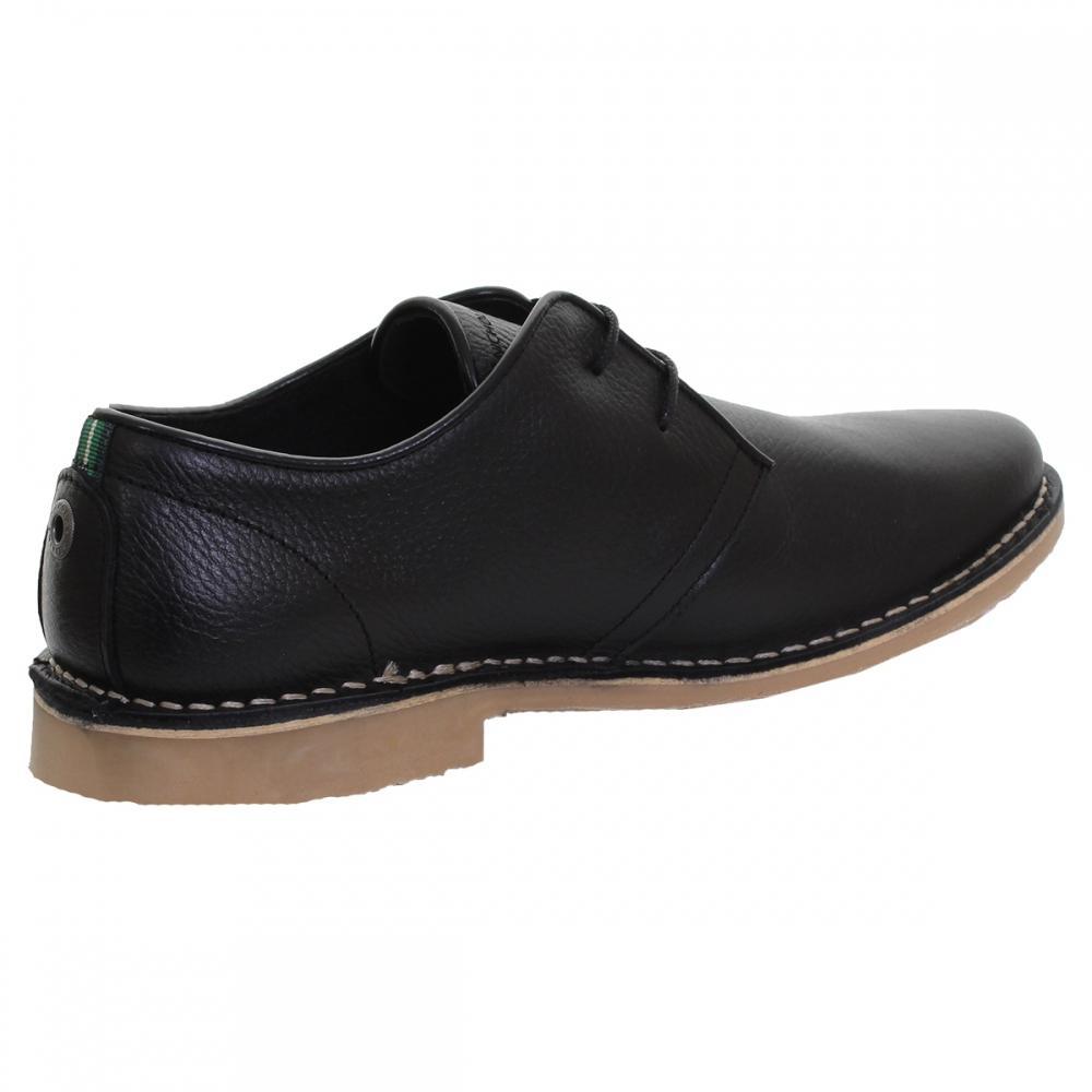 Nicholas Deakins Leather Botang Desert Mens Shoe in Black for Men