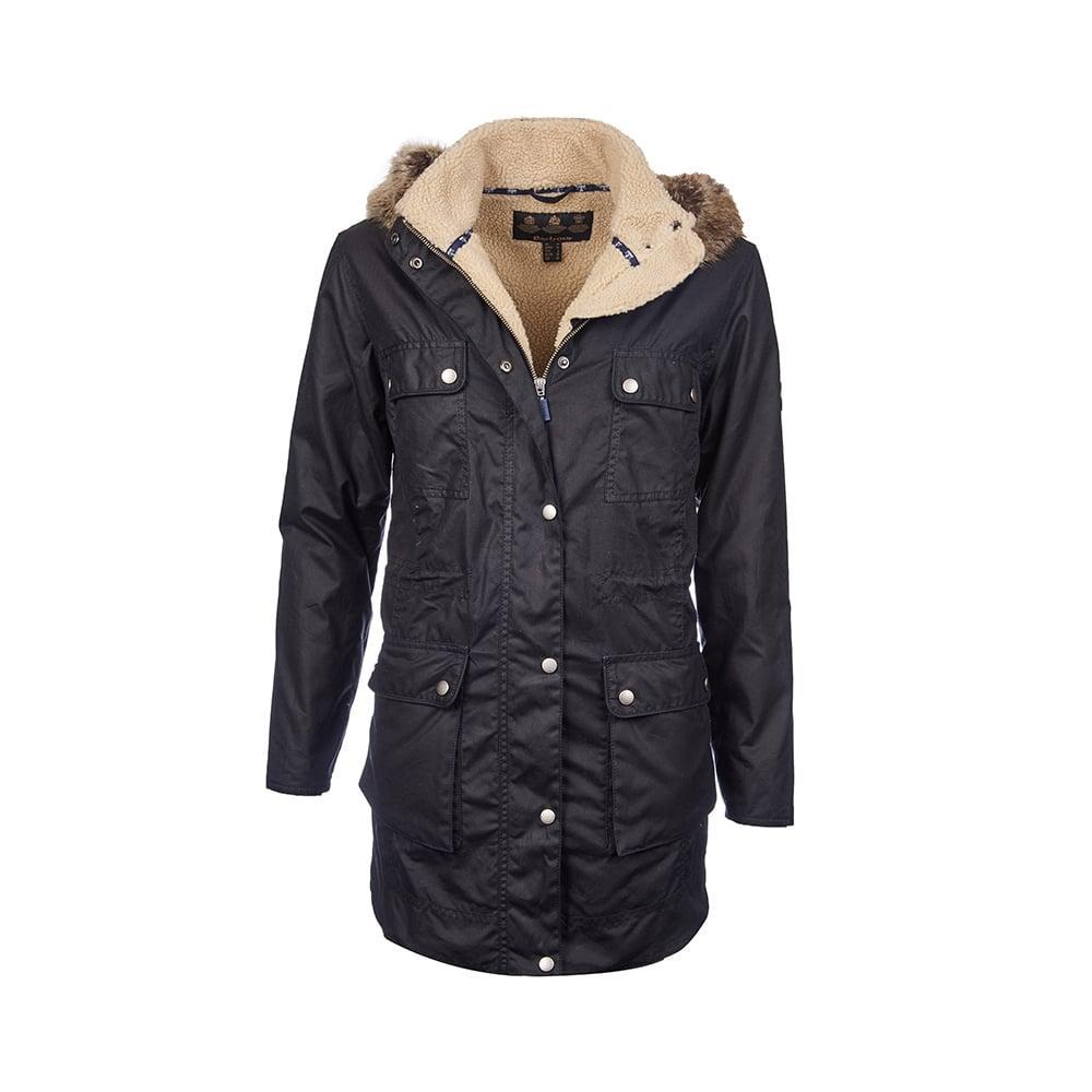 Ladies Wax Parka Coats