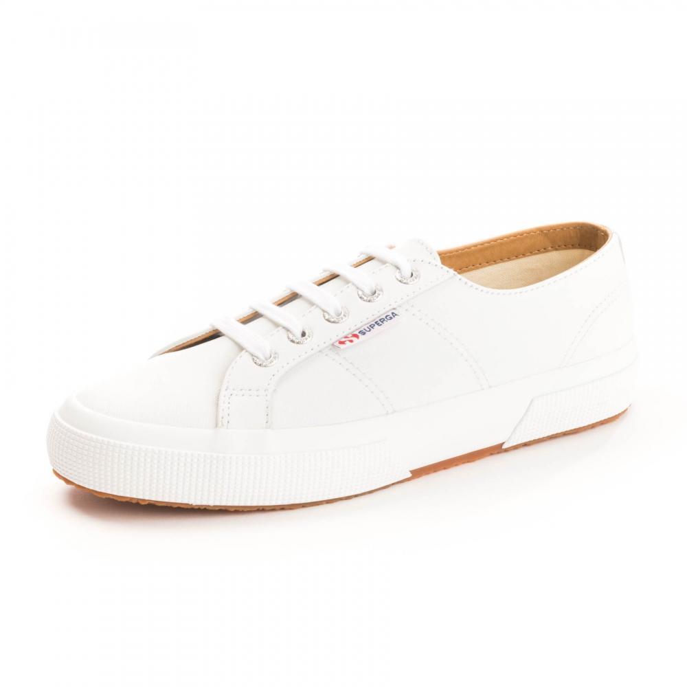e31e8b0ce64 Lyst - Superga 2750 Nappaleau Womens Shoe in White