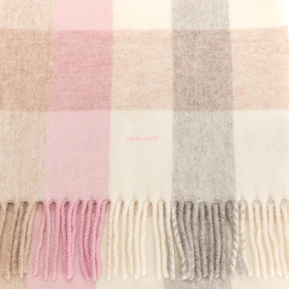 Gant - Multicolor Multicheck Lambswool Womens Scarf - Lyst. View fullscreen 053508e7333