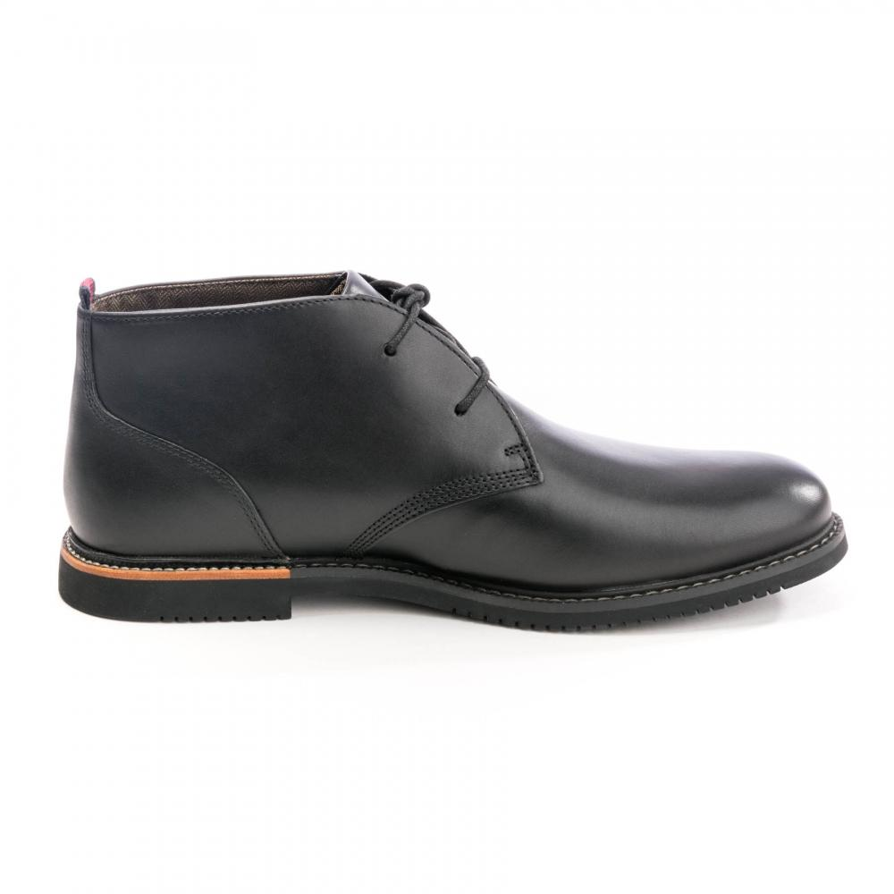Timberland Leather Brook Park Mens Chukka Boot In Black