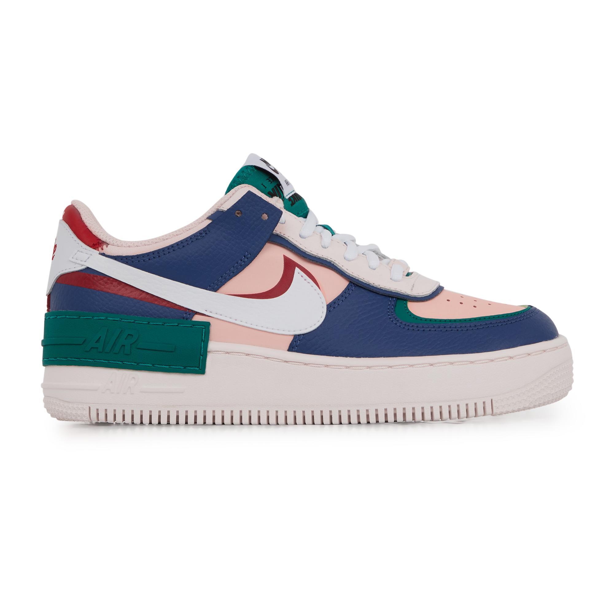 Af1 shadow Nike en coloris Bleu - Lyst