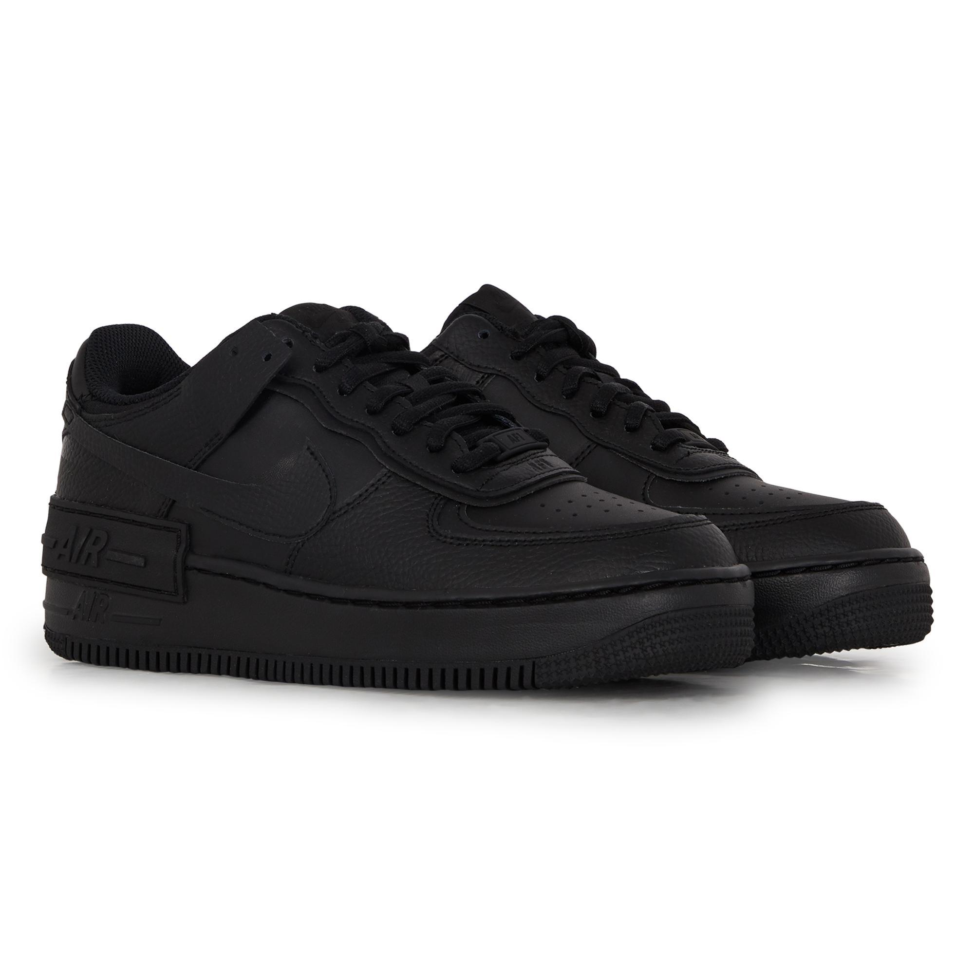 Air force 1 shadow Nike en coloris Noir - Lyst