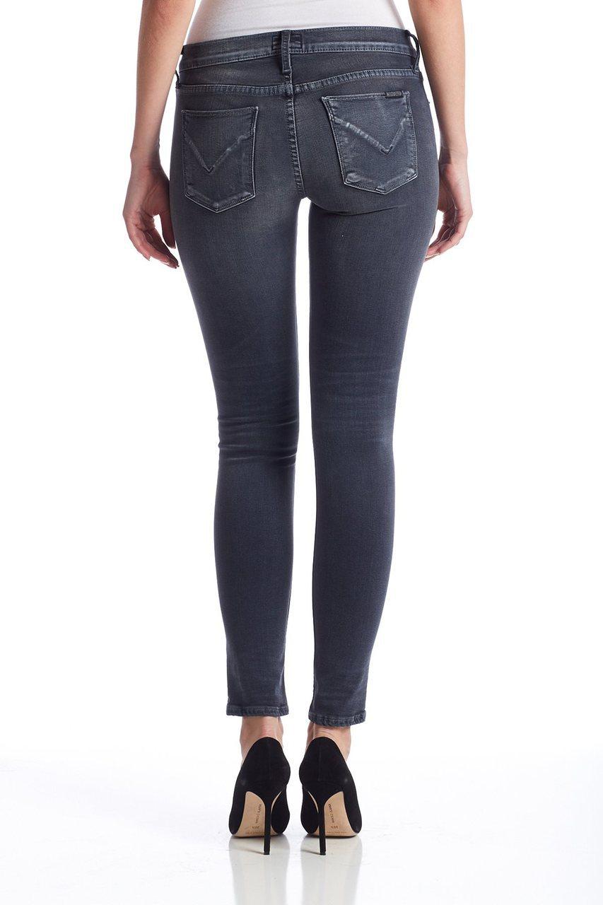 Hudson Jeans Wdfp Ciara Super Skinny In Dark Skies In Blue