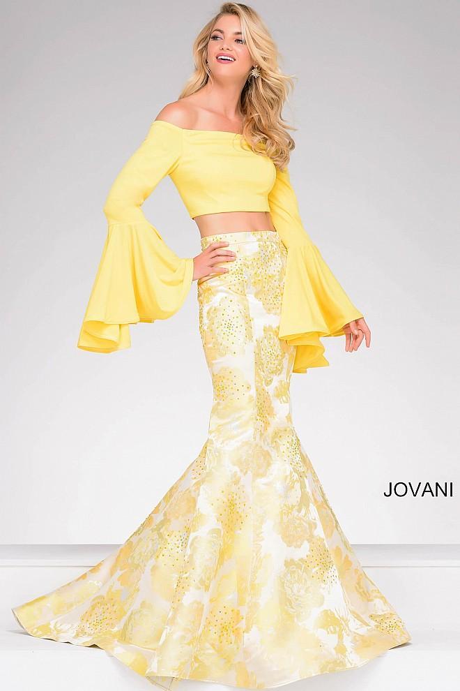 Yellow Mermaid Prom Dresses 2014 Lyst - Jovani T...