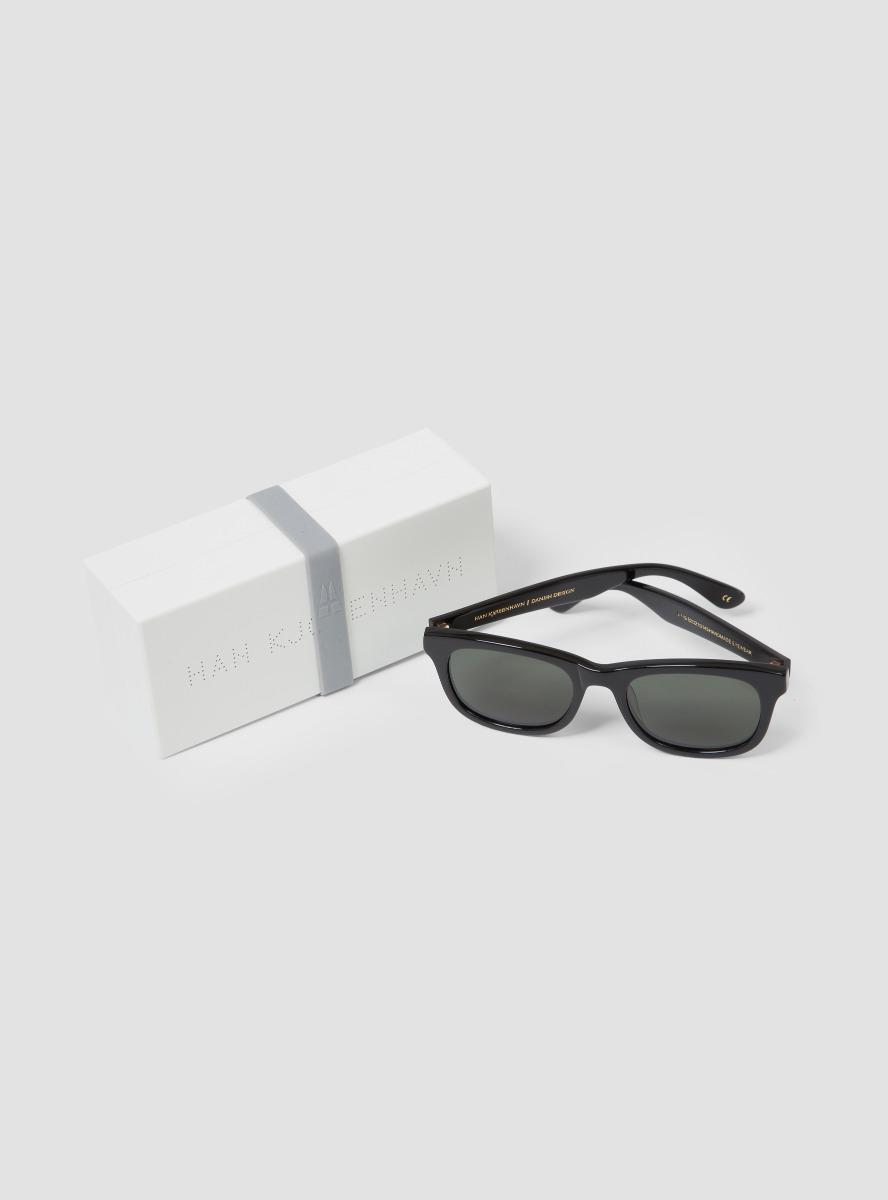 Han Kjobenhavn Wolfgang Black Sunglasses