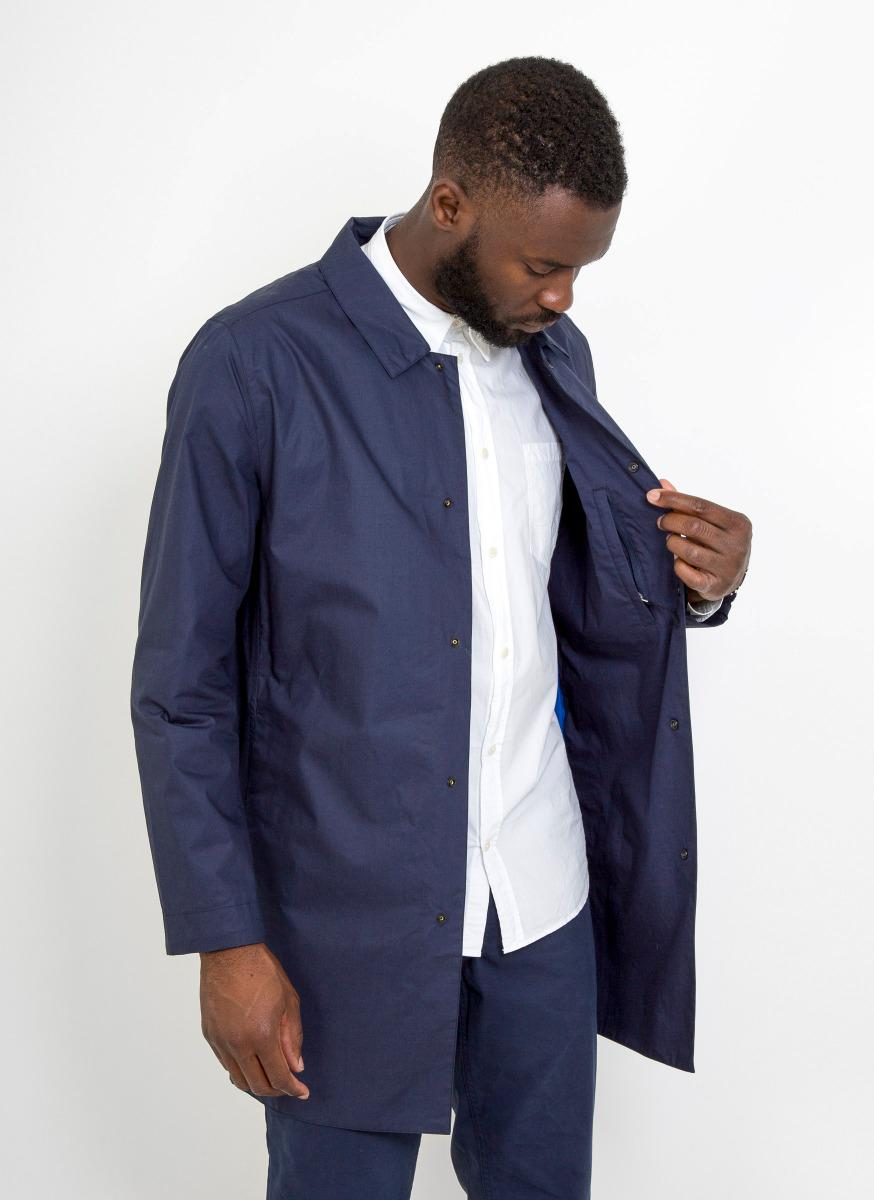 2bf1d136f18 Norse Projects Thor Technical Poplin Jacket in Blue for Men - Lyst