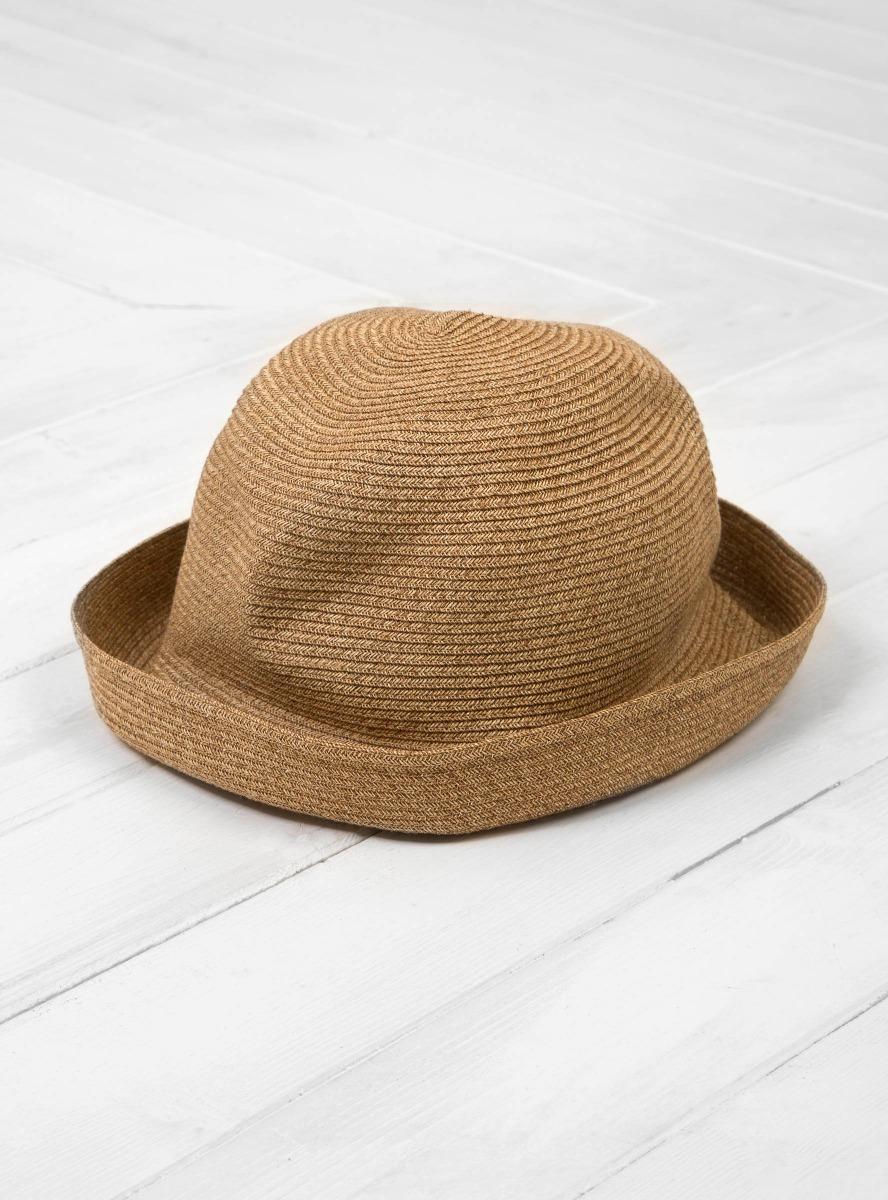 Lyst - Mature Ha. Boxed Hat 7cm Brim