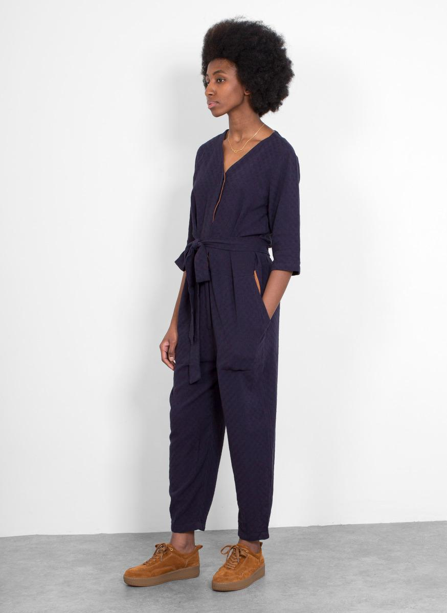 2c83e3a37dc7 Lyst - SIDELINE Jeanie Jumpsuit in Blue