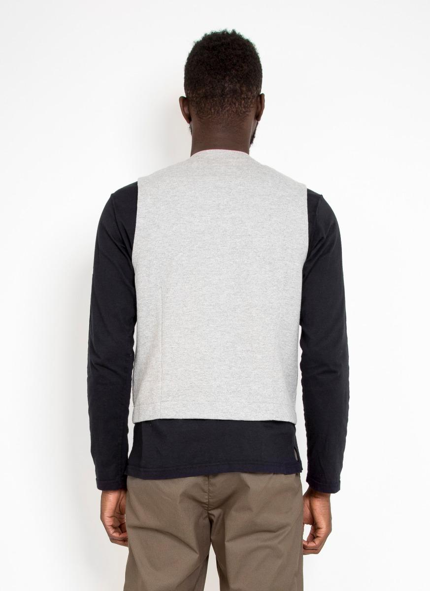 Engineered Garments Cotton Knit Vest French Terry for Men