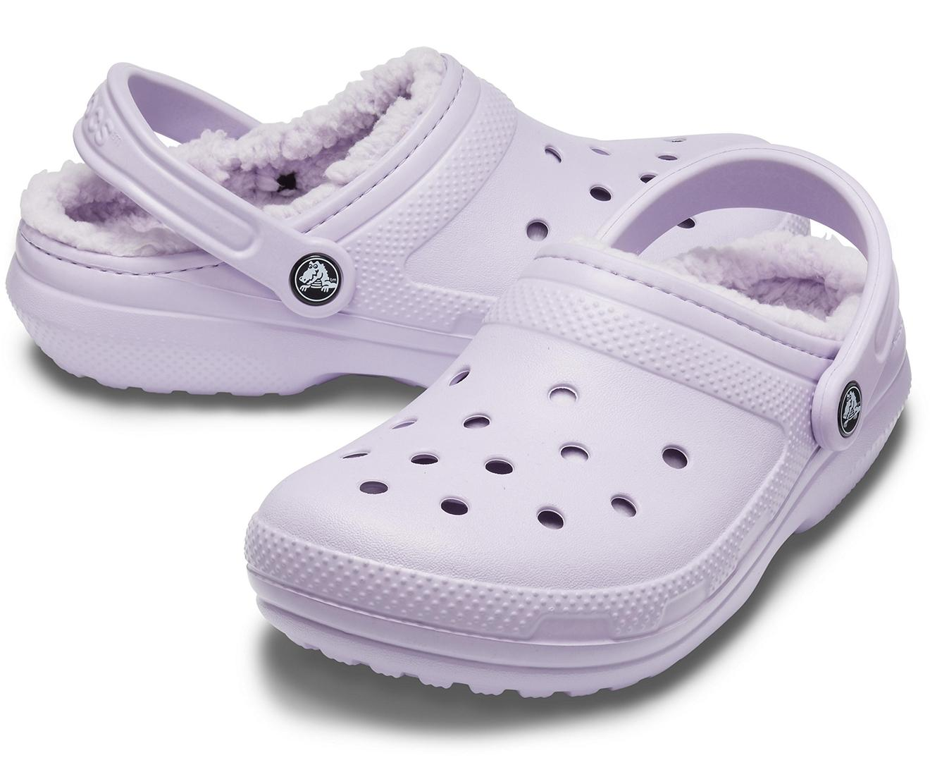 Crocs™ Classic Lined Clog Lavender in