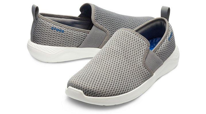 Crocs™ Literide Mesh Slip-on in Smoke