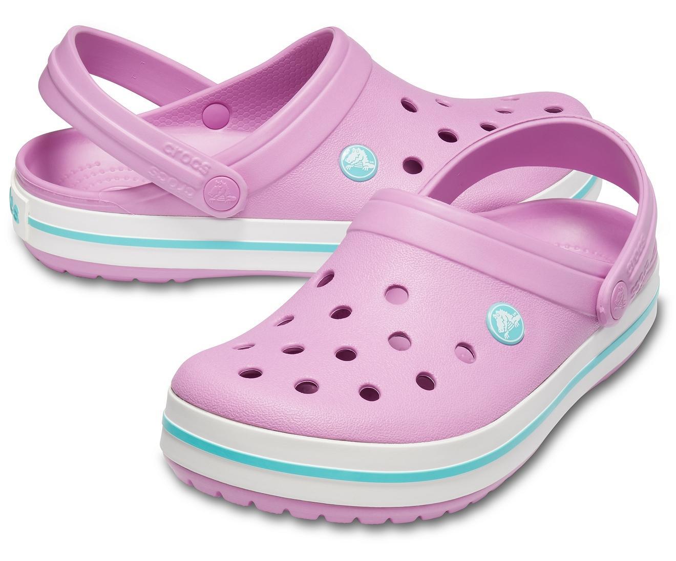 Crocs™ Violet / White Crocband Clog - Lyst