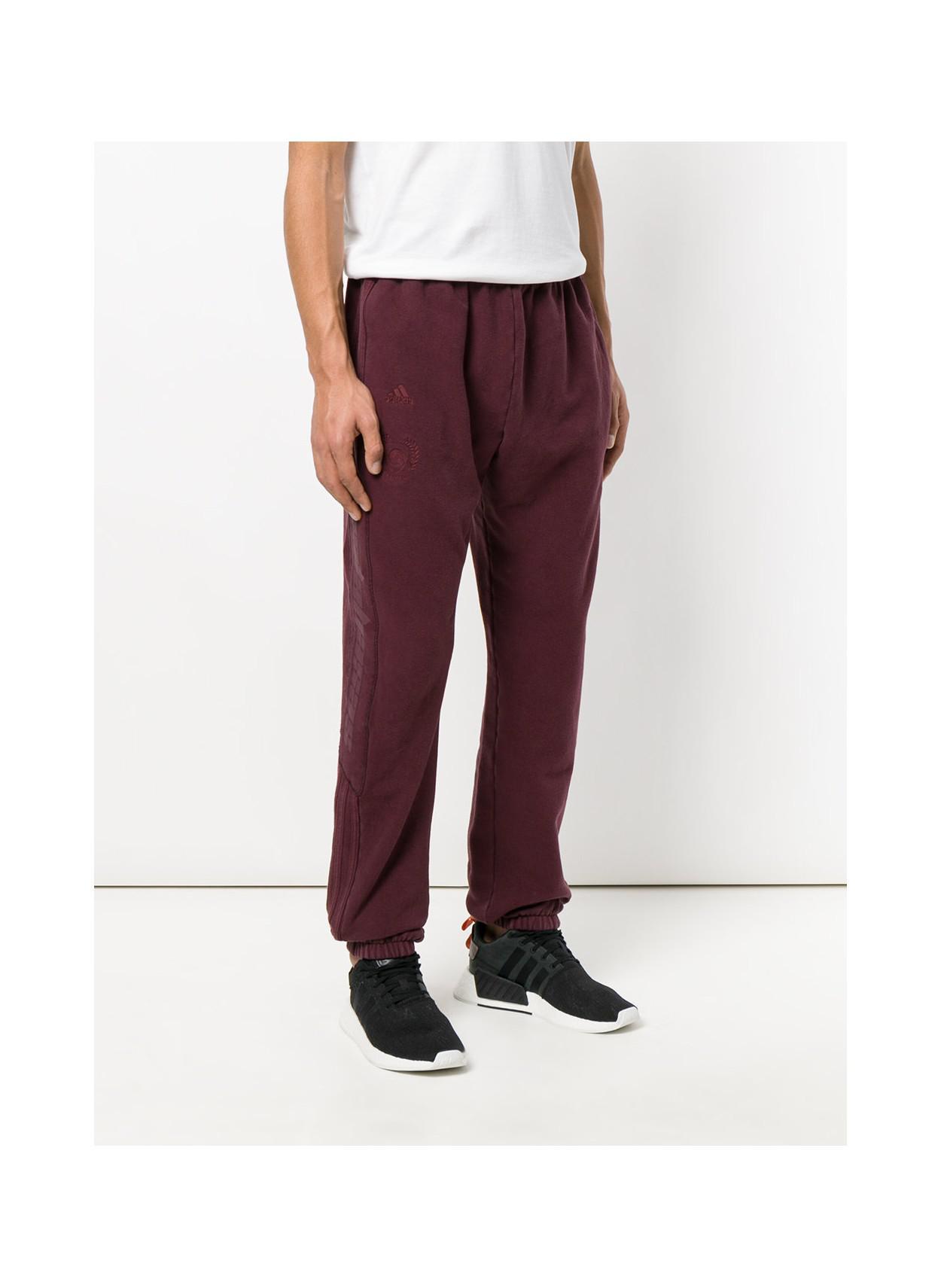 3b19bd4718b00 Lyst - Yeezy Men s Calabasas Track Pants Oxblood in Red for Men ...