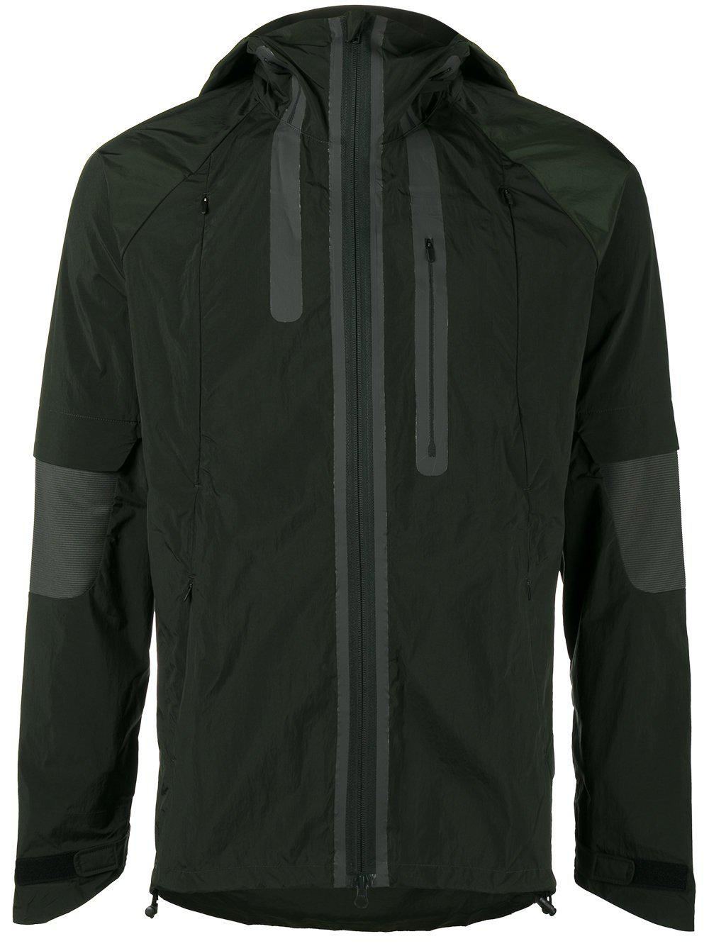 6b3bbd56c Y-3 Nylon Hood Jacket in Green for Men - Lyst