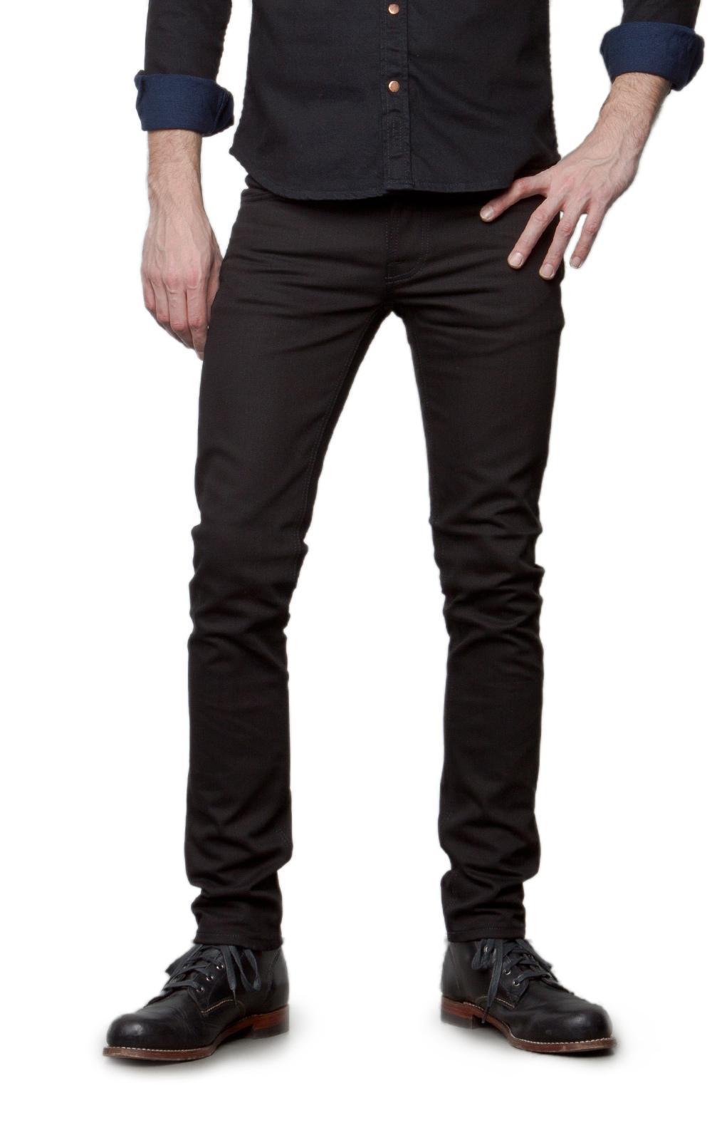 Grim Tim Slim-fit Organic Stretch-cotton Corduroy Jeans - BlackNudie Jeans Emplacements Sortie Prix Pas Cher Une Surprise Énorme Pas Cher alQYRgH1