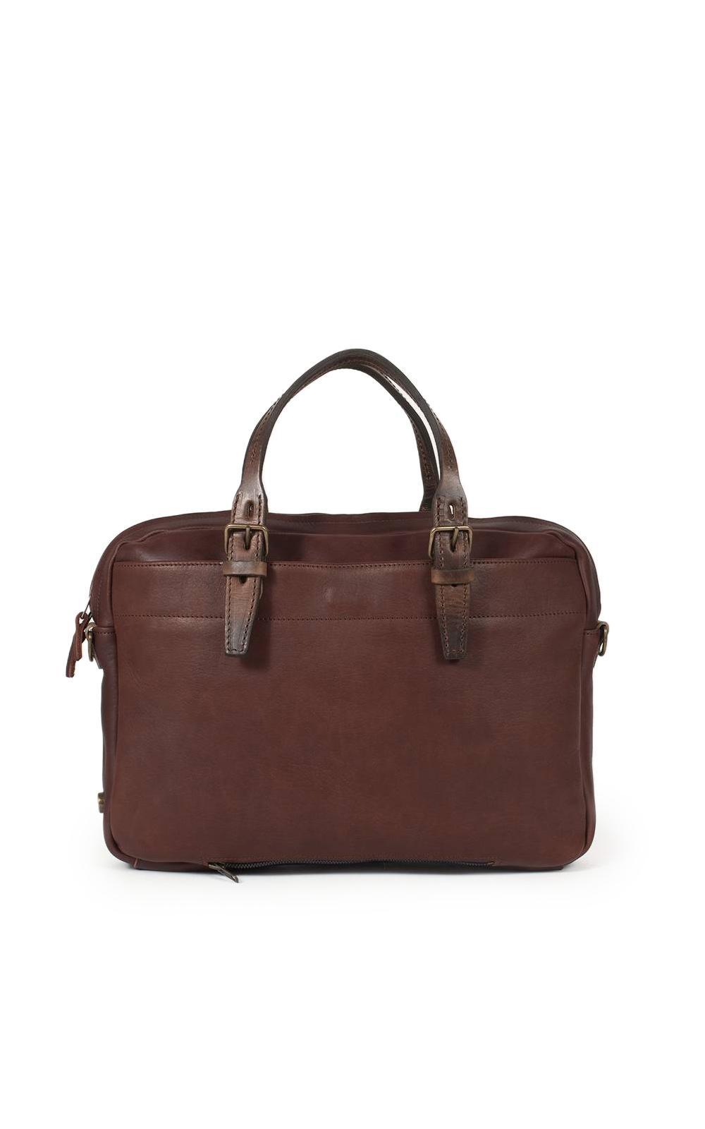 ... Brown Business Bag Folder Tourbe for Men - Lyst. View fullscreen d0ebdfc2b0a5a