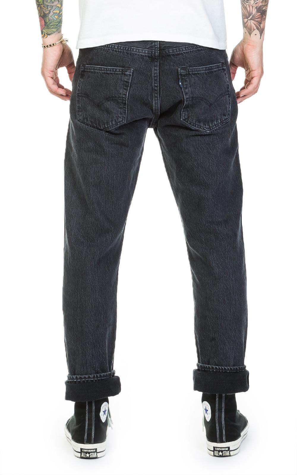 49e65c60e99 Levi s 501 Original Fit Black Stonewash in Black for Men - Lyst