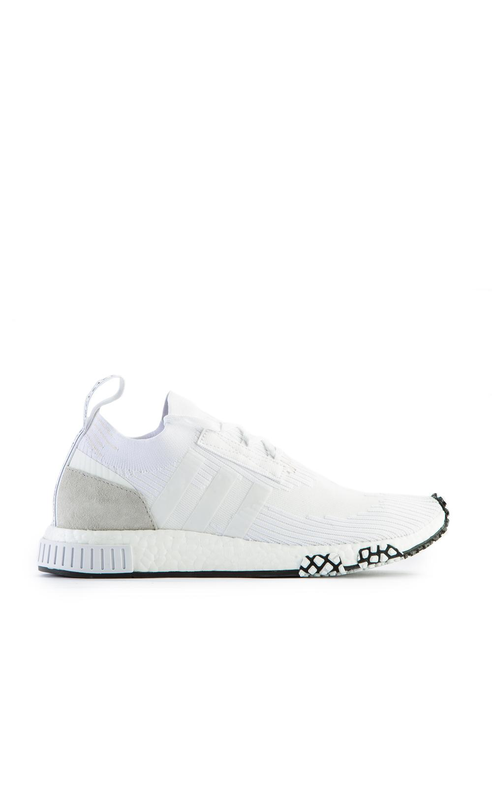 watch 50c8a db876 adidas Originals Nmd Racer Primeknit Triple White in White f