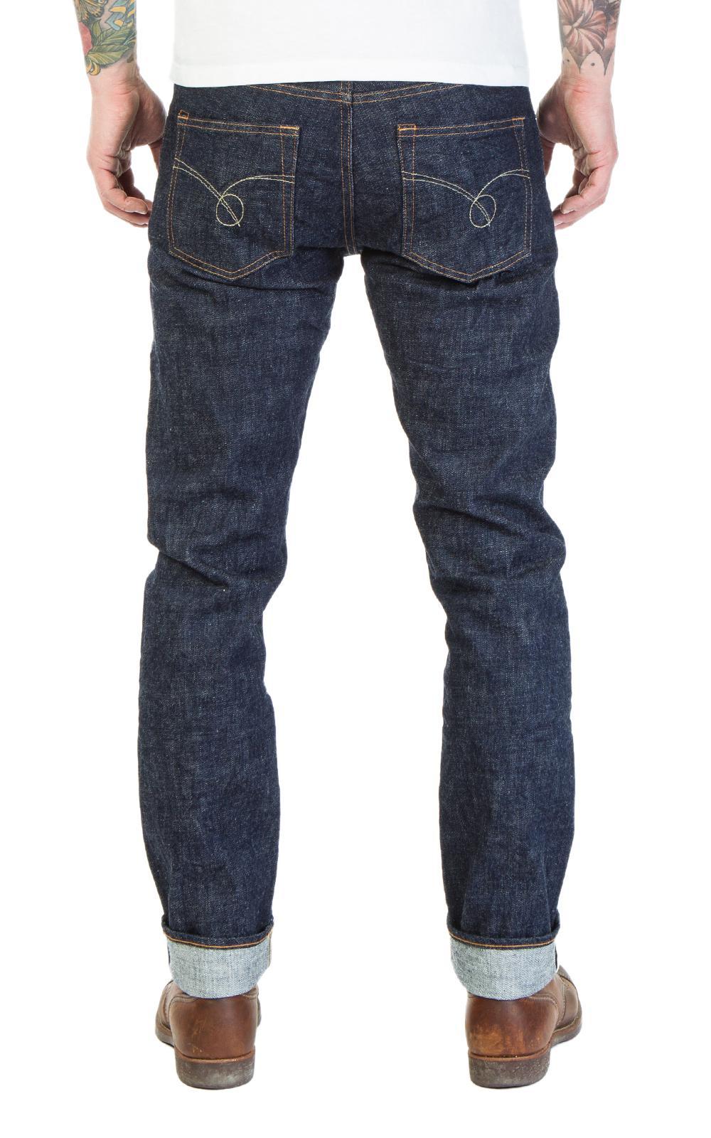 Japan Blue Jeans Cotton Jb7700 Côte D'ivoire Selvage Indigo Rinsed 13.5oz in Blue for Men