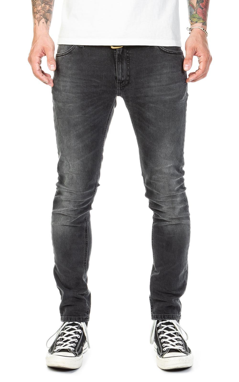 9b21e9680faef Nudie Jeans Skinny Lin Black Movement in Black for Men - Lyst